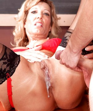 Mature Creampie Photos