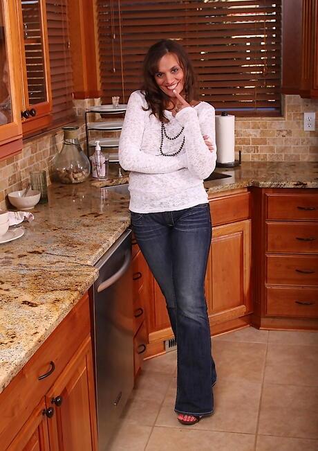 Mature in Kitchen Photos