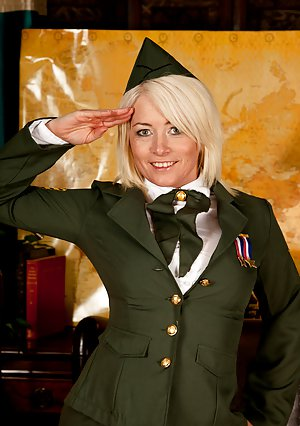 Mature in Uniform Photos