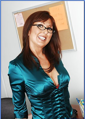 Mature in Glasses Photos