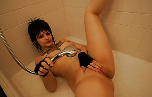 Mature in Shower Photos