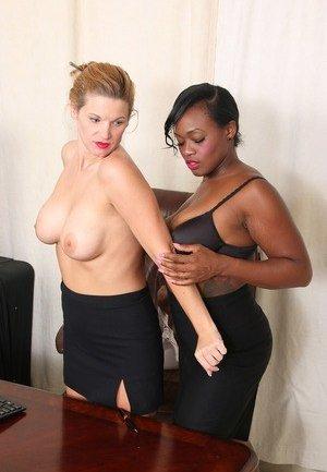 Lesbian Interracial Photos
