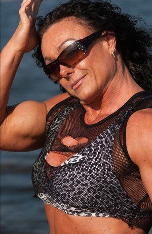 Mature Fitness Girl Photos